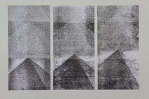 Pyramiden Monotypie, 2018