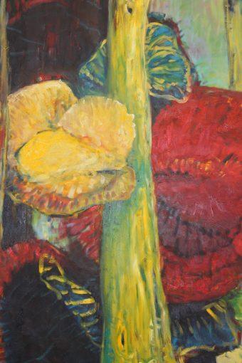Fruchtkörper, Öl auf Leinwand, 2013, 130x95cm